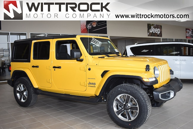 New 2019 Jeep Wrangler UNLIMITED SAHARA 4X4 Sport Utility in Carroll, IA