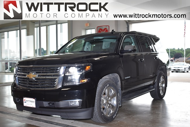 Used  2015 Chevrolet Tahoe LTZ SUV in Carroll, IA