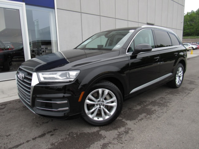 VIN     - Used 2018 Audi Q7 For Sale at Land Rover Waukesha