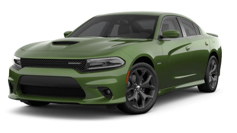 2019 Dodge Charger R/T - F8 Green