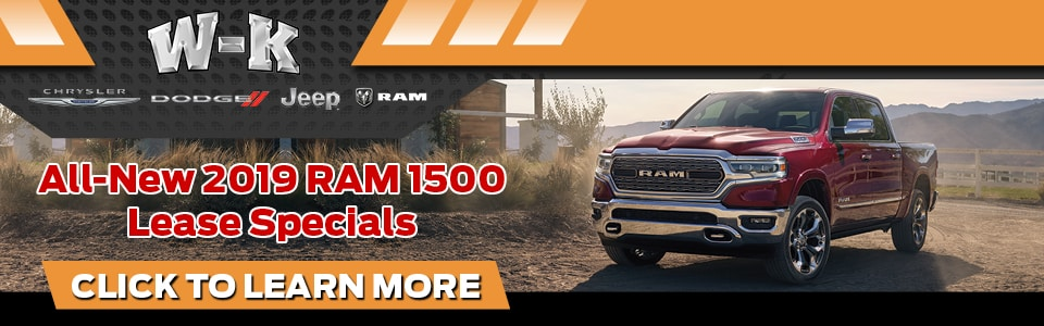 2019 Ram 1500 Lease Deals in Boonville, MO