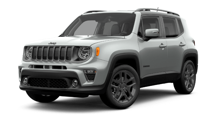 2019 Jeep Renegade High Altitude - silver