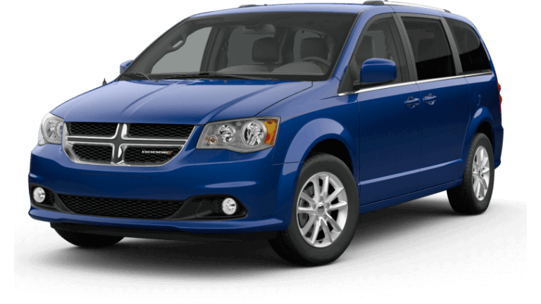 2019 Dodge Grand Caravan SXT - Indigo Blue