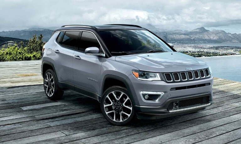2019 Jeep Compass mountain coast