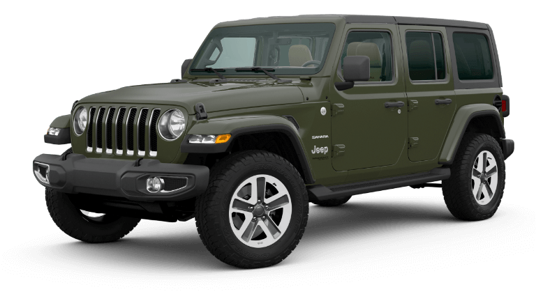 2020 Jeep Wrangler North Edition - Sarge Green