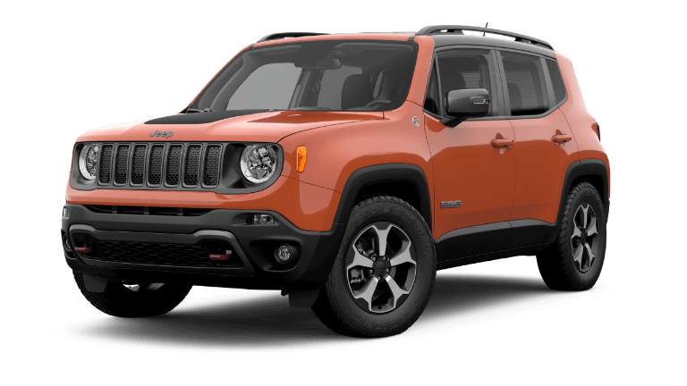 2019 Jeep Renegade Trailhawk® - orange