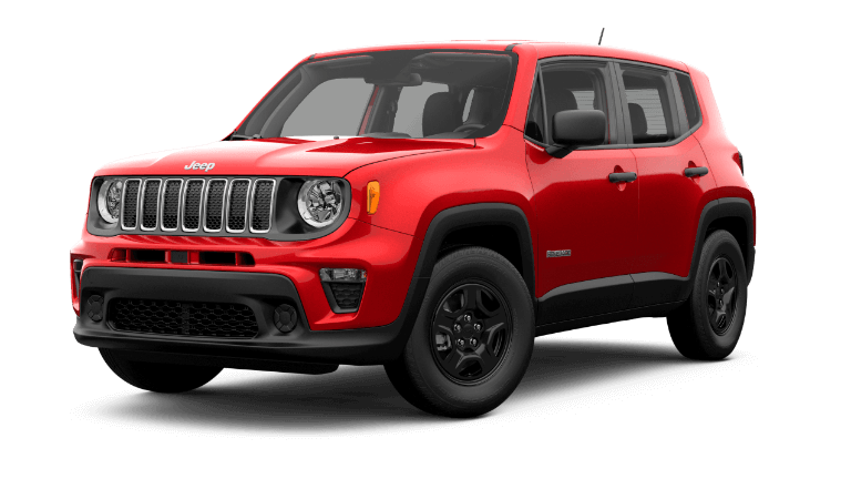 2019 Jeep Renegade sport - Red