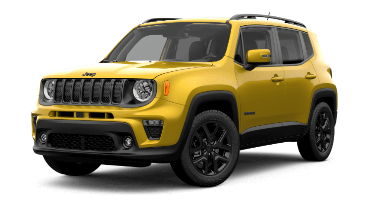 2019 Jeep Renegade Altitude - yellow