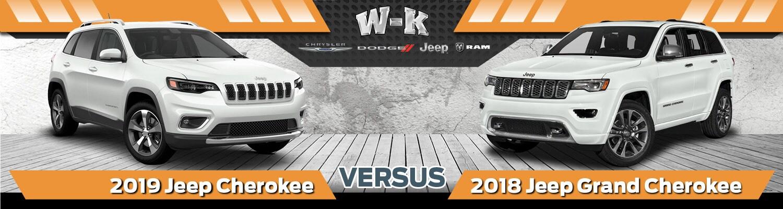 Are mistaken. vs 2018 jeep grand cherokee phrase
