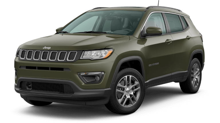 2020 Jeep Compass Sun & Safety - Olive Green