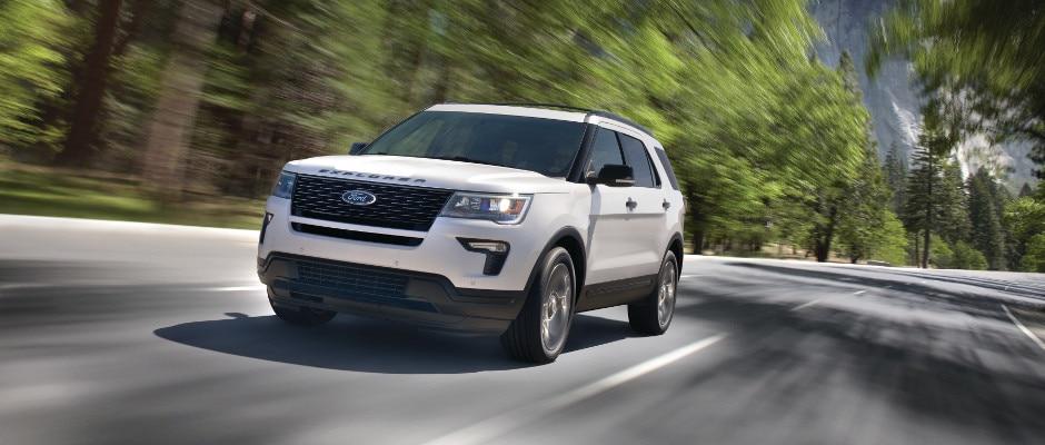 Ford Escape Vs Edge Vs Explorer Performance