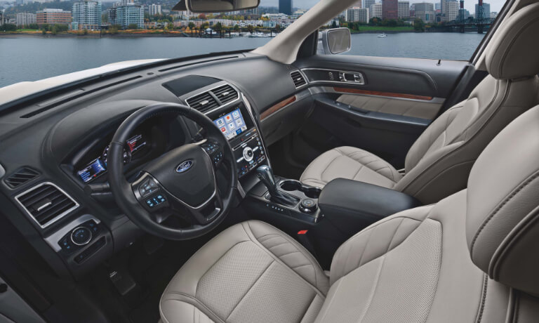 2019 Ford Explorer Interior Front