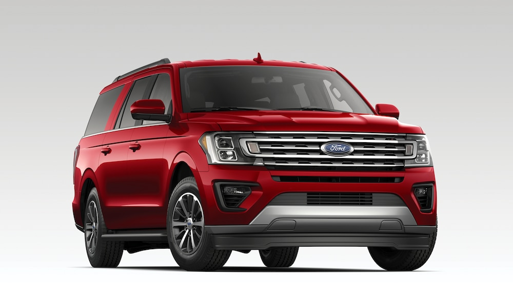 2019 Ford Expedition Limited - red