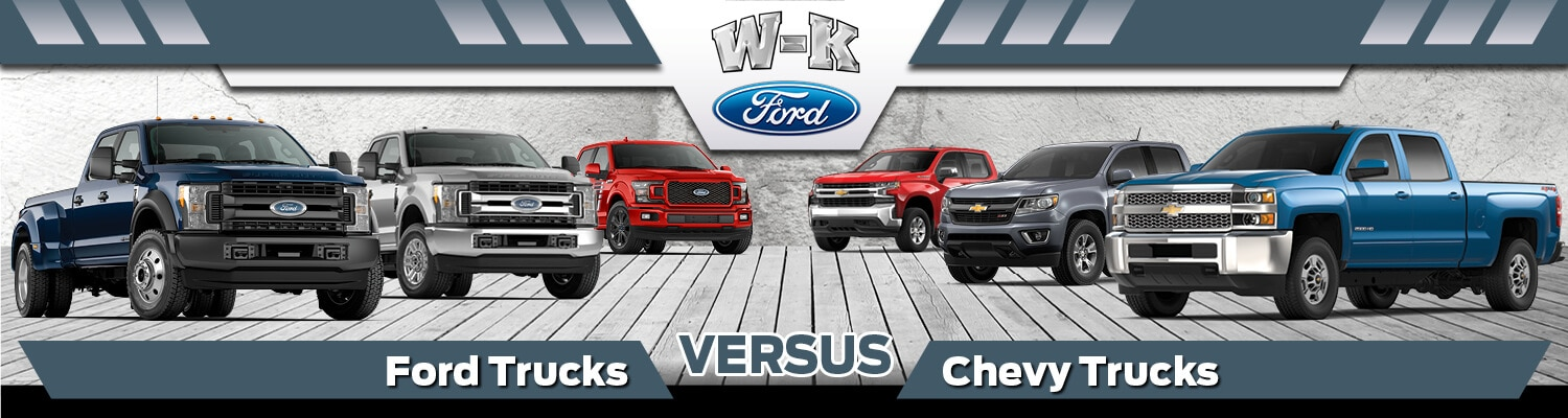 2019 Ford Trucks vs 2019 Chevy Trucks