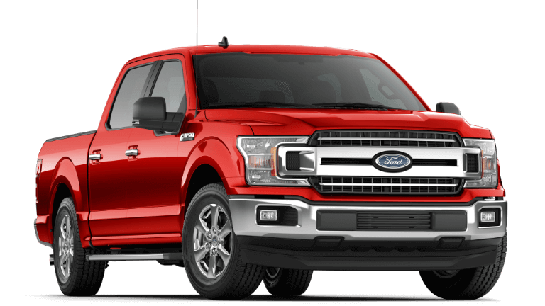 2020 Ford F-150 XLT - Race Red
