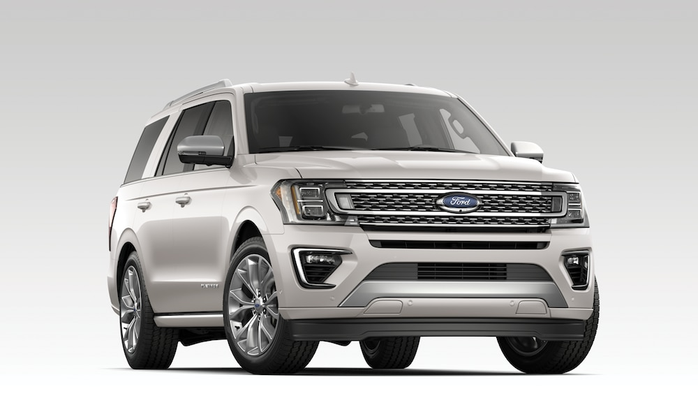 2019 Ford Expedition Platinum - white