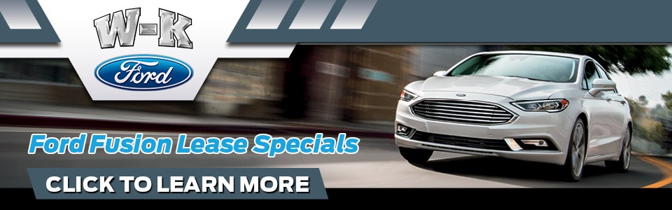Ford Fusion Lease Deal