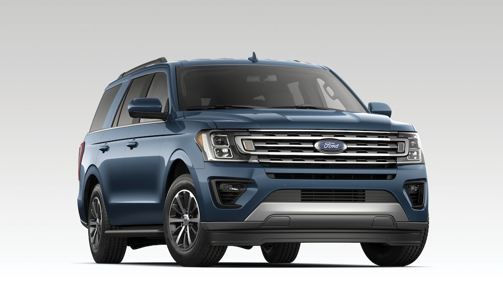 2019 Ford Expedition XLT - blue