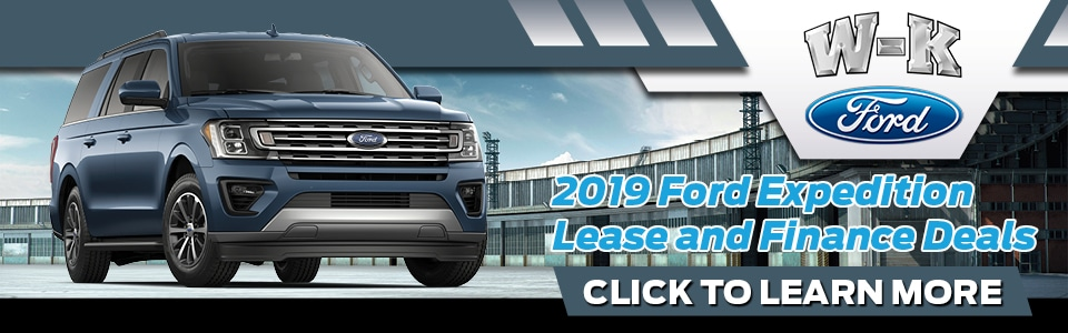 2019 Ford Expedition Specials Banner
