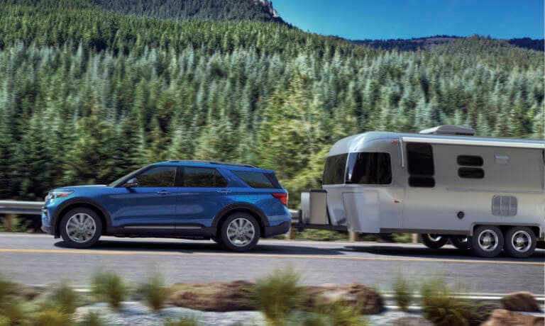 2021 Ford Explorer Exterior Towing Trailer