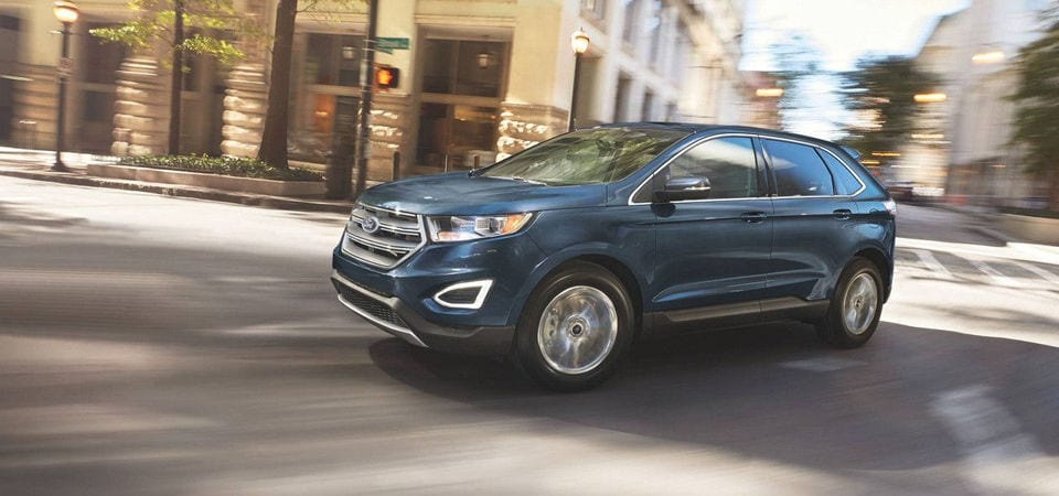 2017 Ford Edge driving face