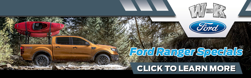 2019 Ford Ranger Specials