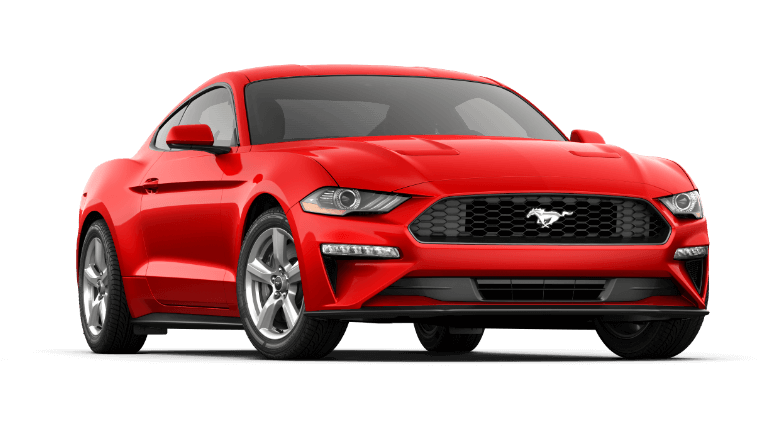 2019 Ford Mustang EcoBoost Fastback - Race Red