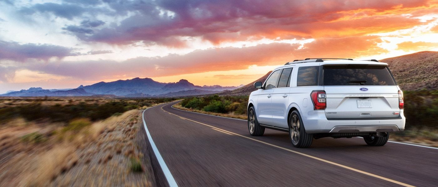 2020 Ford Expedition rear view