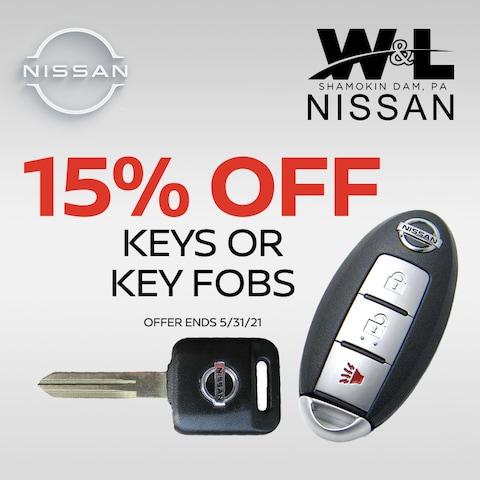 15% Off Keys