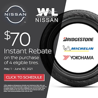 $70 Off 4 Eligible Tires (exp. June 30)