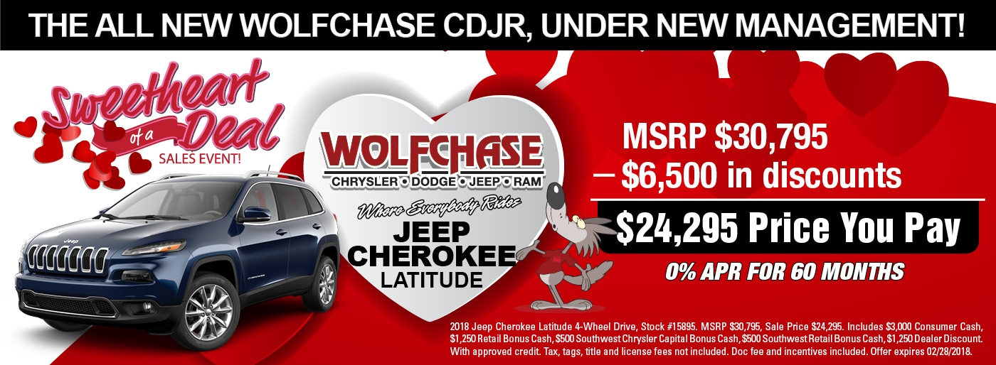 New Chrysler Dodge Jeep Ram Specials In Bartlett TN - Chrysler capital bonus cash