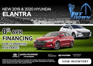 New 2019 & 2020 Hyundai Elantra