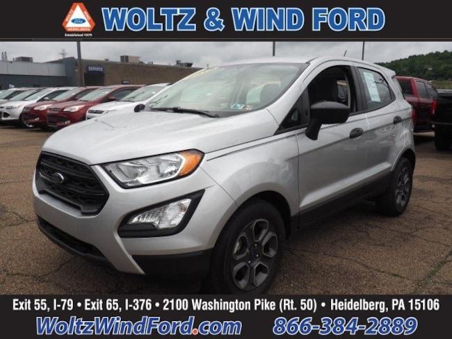 New 2018 Ford EcoSport S SUV MAJ3P1RE6JC247350 For sale Heidelberg, PA