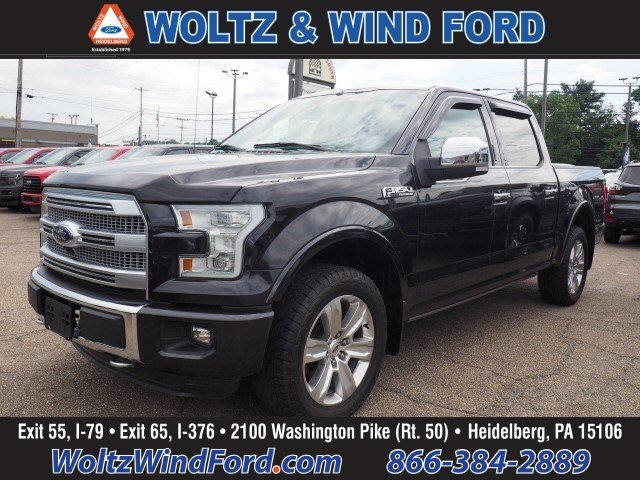 2015 Ford F-150 4WD SuperCrew 145 Platinum - TWIN PANEL MOONROOF Truck SuperCrew Cab 1FTEW1EF1FFC24665