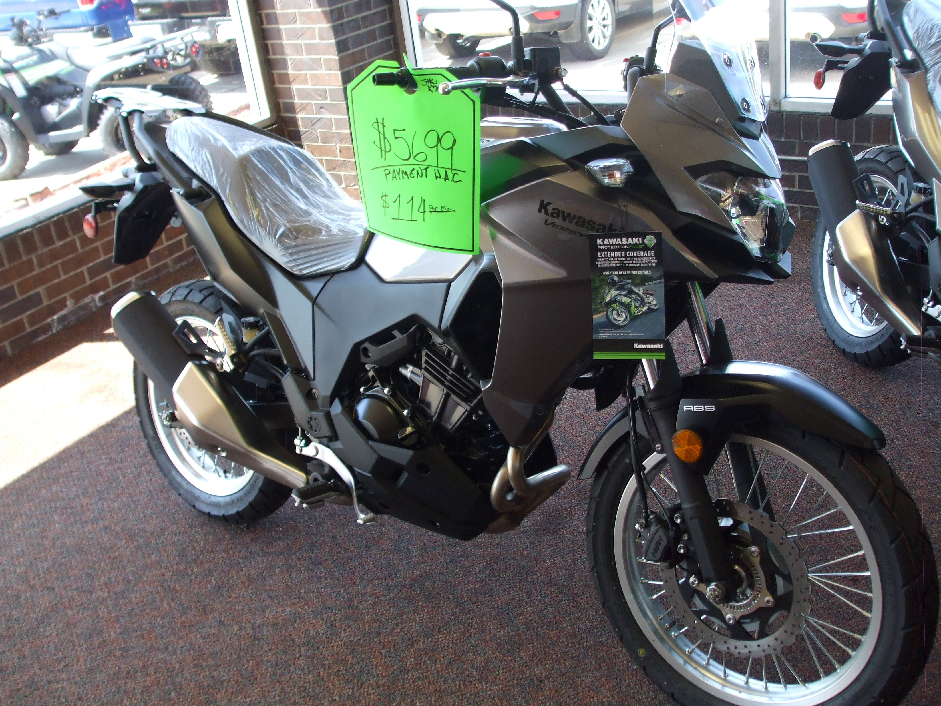 2017 Kawasaki KLE300CHFL Motorcycle