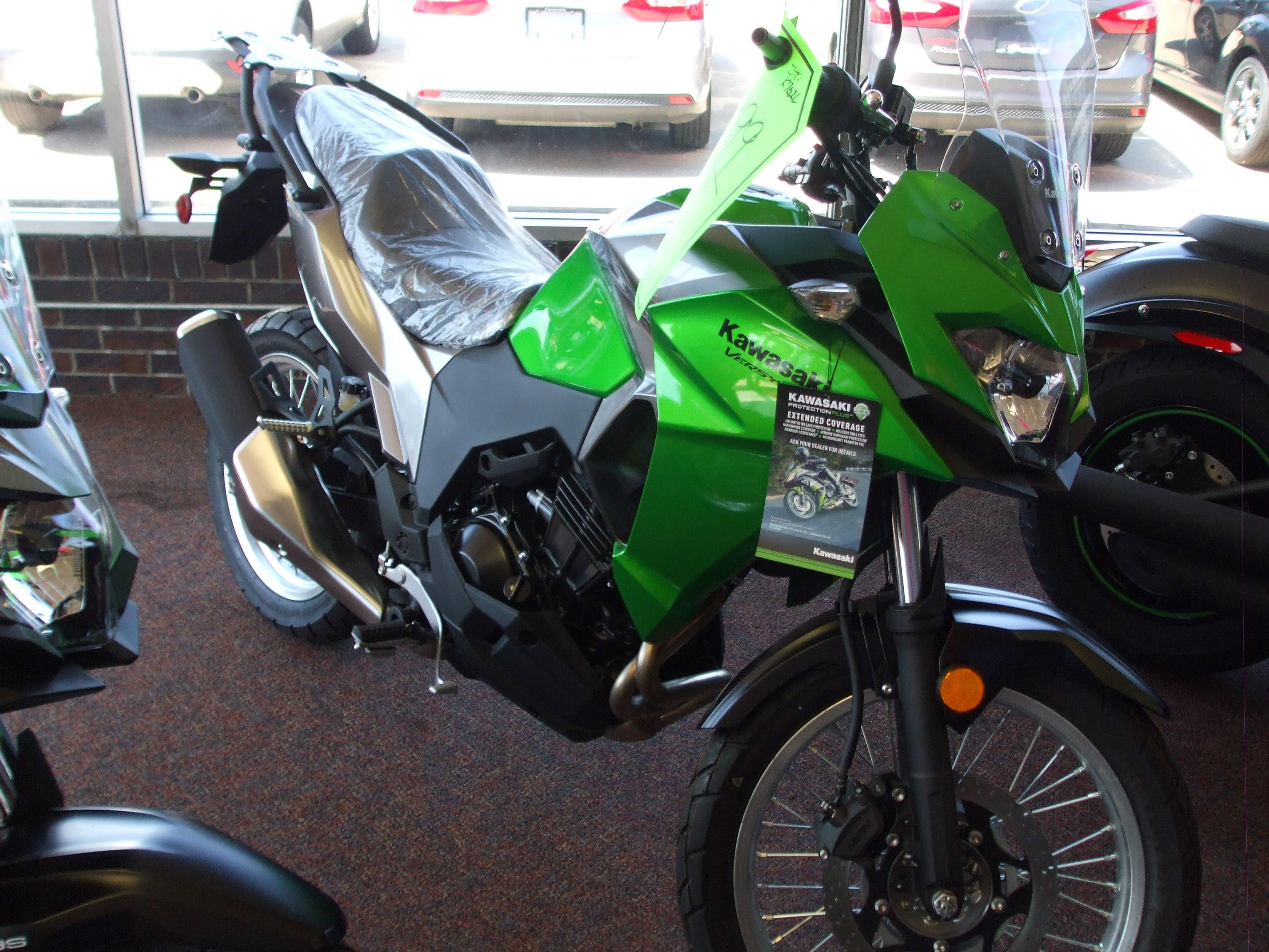 2017 Kawasaki KLE300BHFL Motorcycle