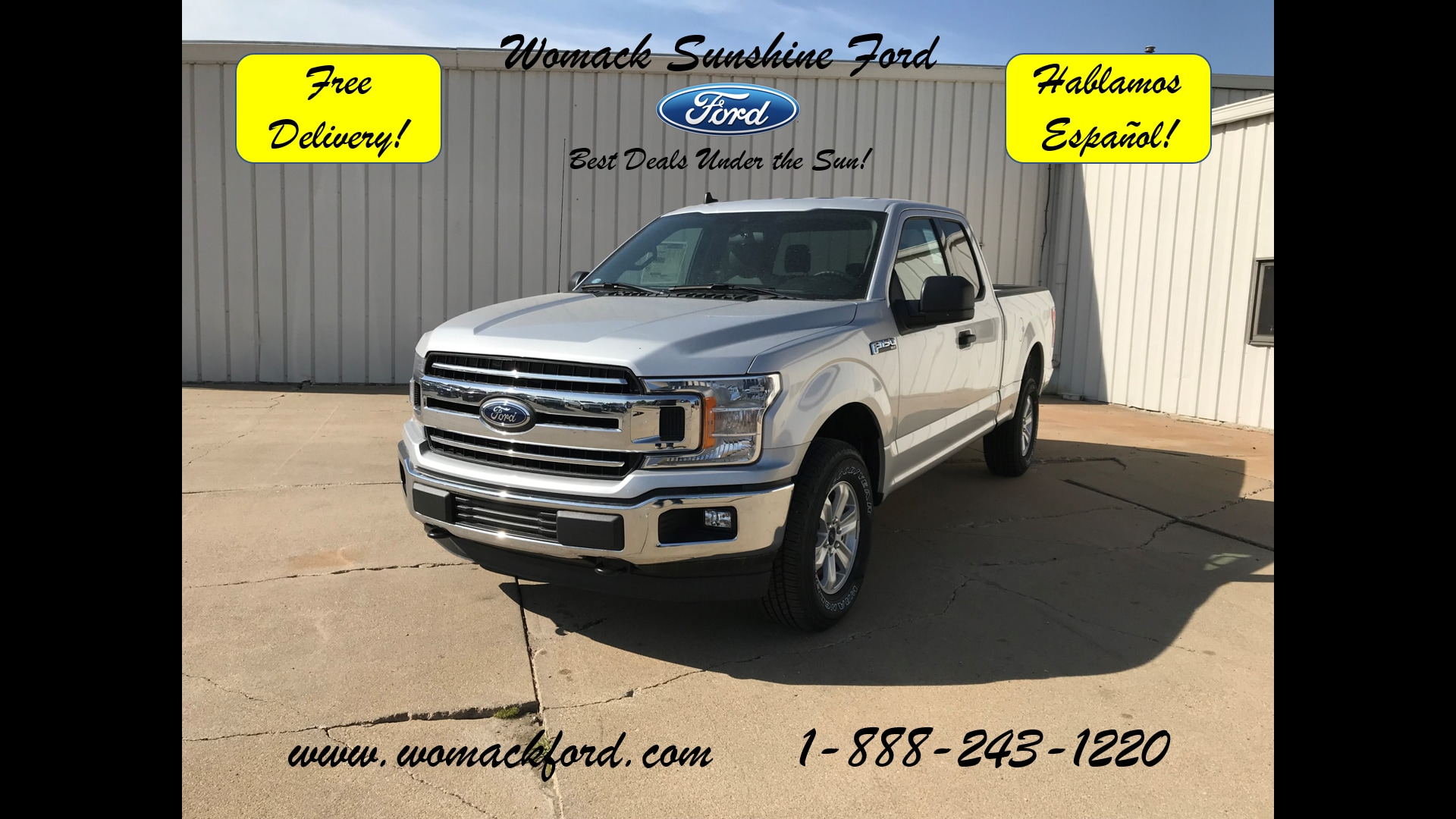 2019 Ford F150 SuperCab Truck