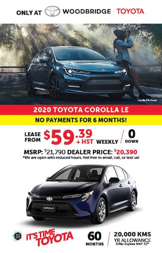 It's time to Toyota with 2020 Corolla!
