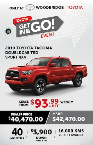 Toyota Get In & Go Event with Tacoma TRD Sport