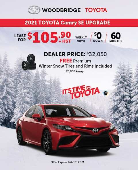 It's Time to Toyota Camry SE