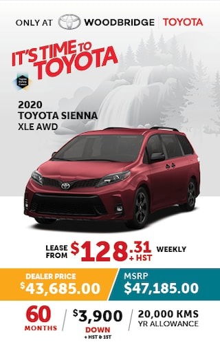 It's Time to Toyota with 2020 Sienna