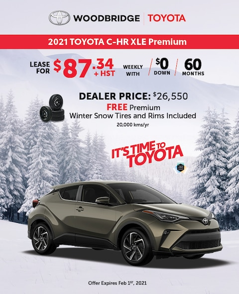 It's Time to Toyota 2021 C-HR