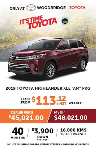It's Time to Toyota with 2019 Toyota Highlander XLE