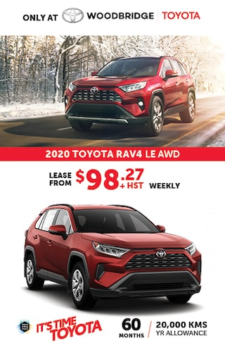It's Time to Toyota with 2020 Toyota Rav4 LE AWD