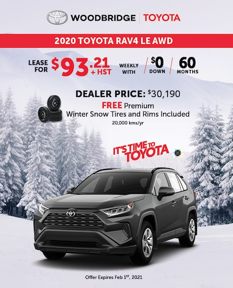 It's Time to Toyota RAV4 LE