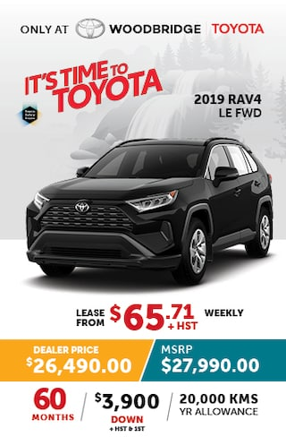 It's Time to Toyota with 2019 Rav4