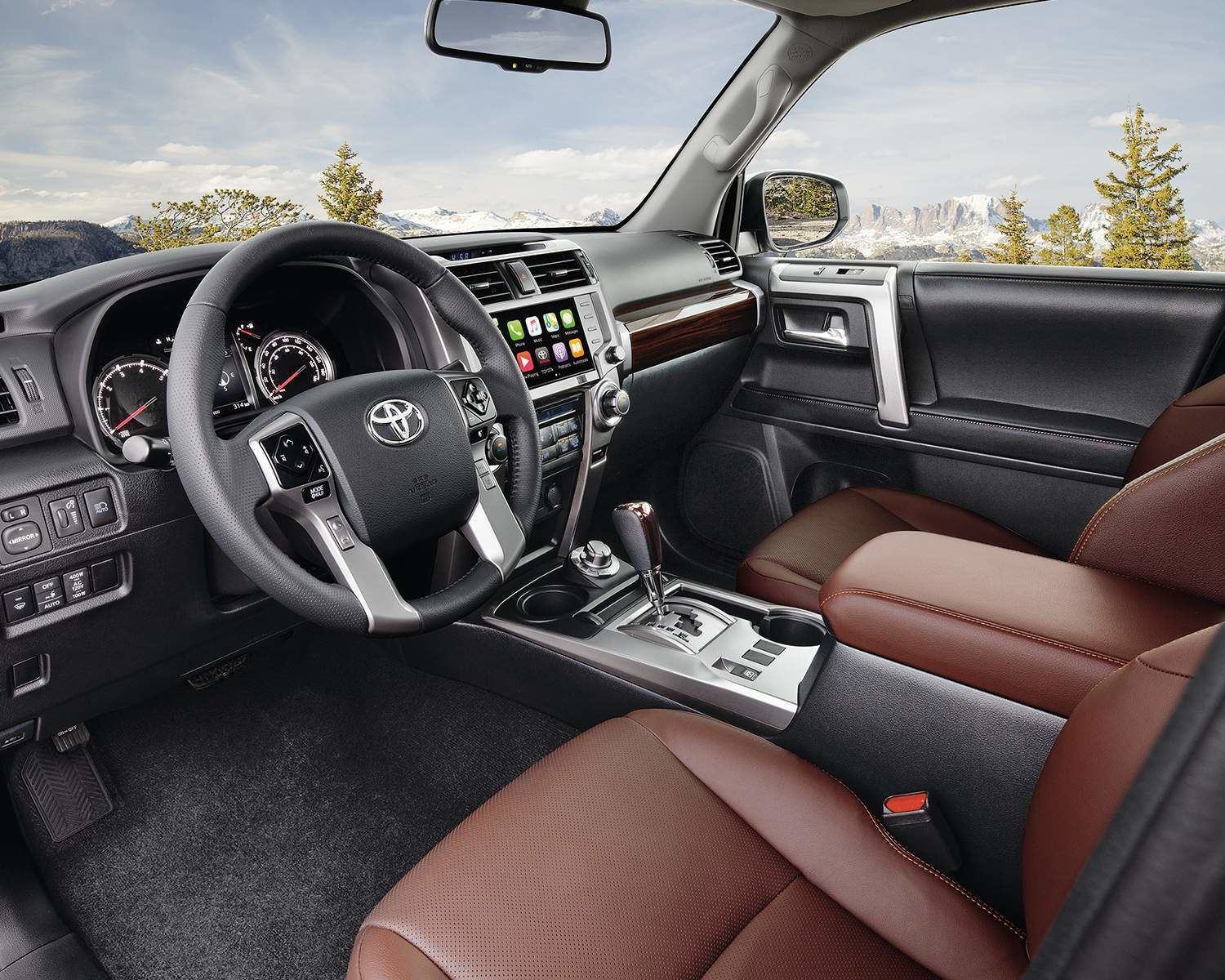 2020 4Runner Interior - Woodbridge Toyota