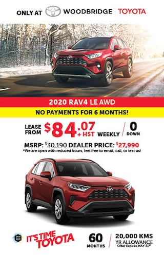 It's time to Toyota with 2020 Rav4