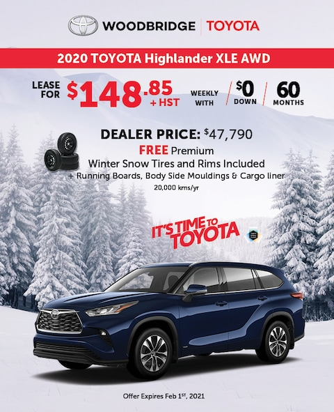It's Time to Toyota Highlander XLE