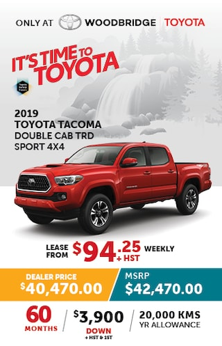 It's Time to Toyota with 2019 Tacoma